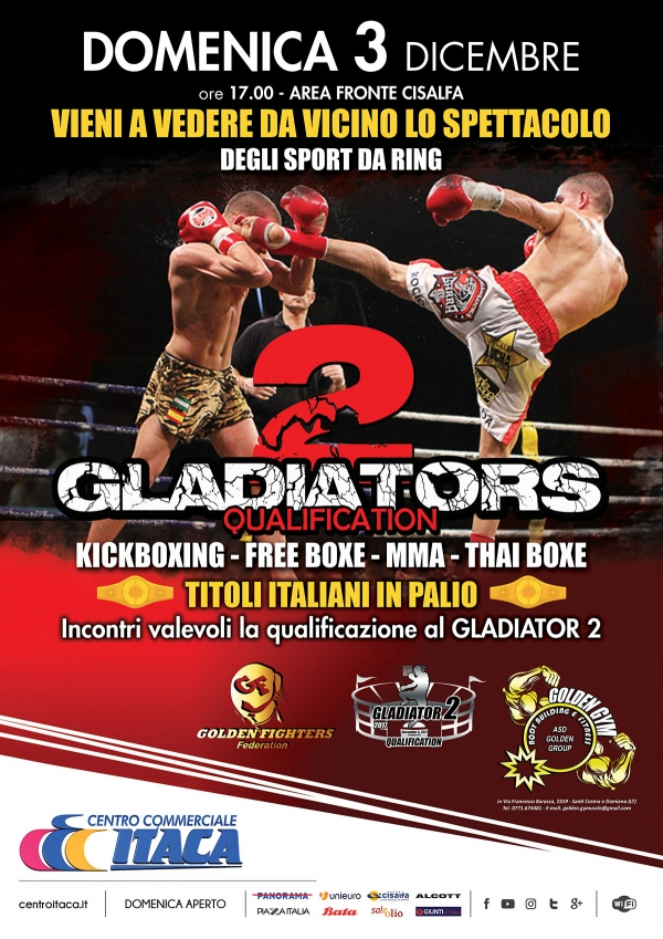 2 GLADIATORS QUALIFICATION